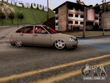 ВАЗ 2172 (Lada Priora) para GTA San Andreas esquerda vista