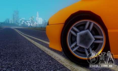 Elegy Hatchback v.1 para GTA San Andreas vista superior