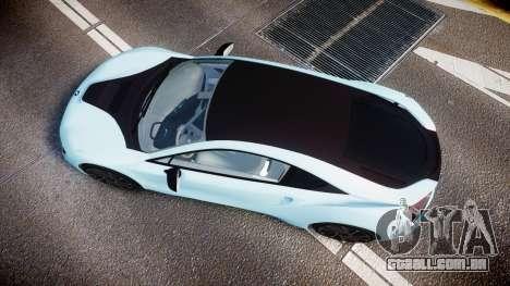 BMW i8 2013 para GTA 4 vista direita