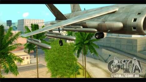 Mammoth Hydra v1 para GTA San Andreas vista direita