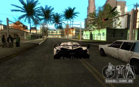 Colormod & ENBSeries para GTA San Andreas por diante tela