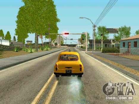 Moskvich 410 Em para GTA San Andreas traseira esquerda vista