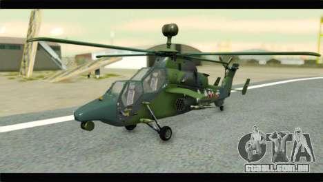 Eurocopter Tiger Polish Air Force para GTA San Andreas