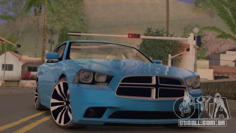 Dodge Charger SRT8 2012 Stock Version para GTA San Andreas