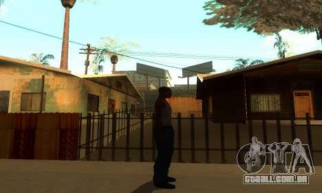 ENB Series para o meio do PC para GTA San Andreas quinto tela