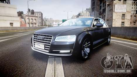 Audi A8 L 2015 Chinese style para GTA 4