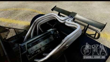 Flip Car 2012 para GTA San Andreas traseira esquerda vista