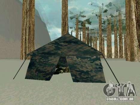 Tenda para GTA San Andreas terceira tela