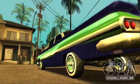Luni Voodoo para GTA San Andreas vista inferior