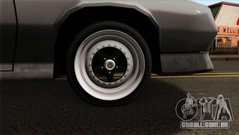 Buffalo Supercharged para GTA San Andreas traseira esquerda vista