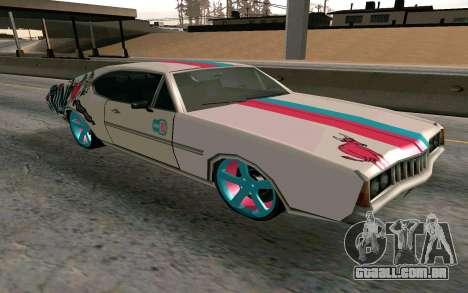 Clover Blink-182 Edition para GTA San Andreas vista traseira