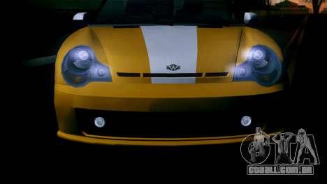 GTA 5 Weeny Issi IVF para GTA San Andreas vista direita