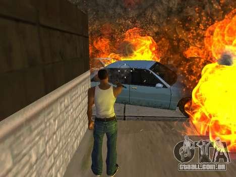 Overdose de efeitos (sem poeira) para GTA San Andreas