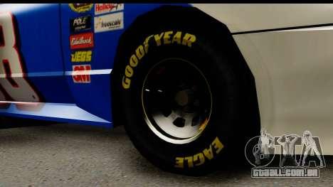 Elegy NASCAR para GTA San Andreas vista direita
