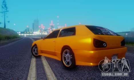 Elegy Hatchback v.1 para GTA San Andreas vista direita