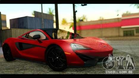 McLaren 570S 2015 para GTA San Andreas