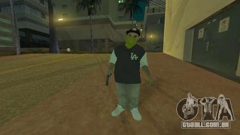 Los Santos Vagos Skin Pack para GTA San Andreas segunda tela