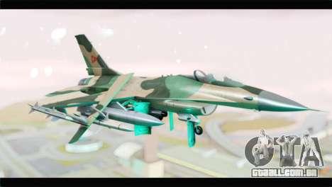 F-16A Fuerza Aerea Venezolana para GTA San Andreas