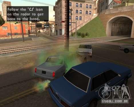 Rainbow Effects para GTA San Andreas sexta tela
