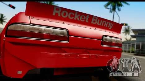 Nissan Silvia S13 Rocket Bunny para GTA San Andreas vista direita