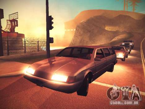ENB Caramelo para GTA San Andreas segunda tela