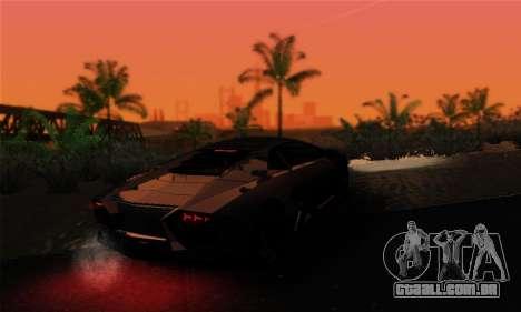 Trigga Snupes ENB para GTA San Andreas quinto tela