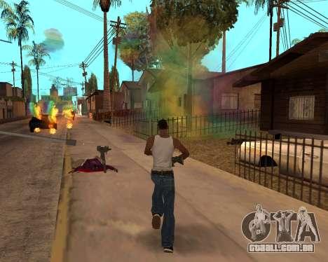Rainbow Effects para GTA San Andreas décima primeira imagem de tela