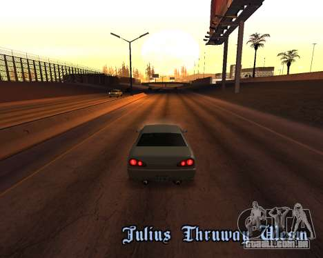 Project 2dfx 2.5 para GTA San Andreas décimo tela