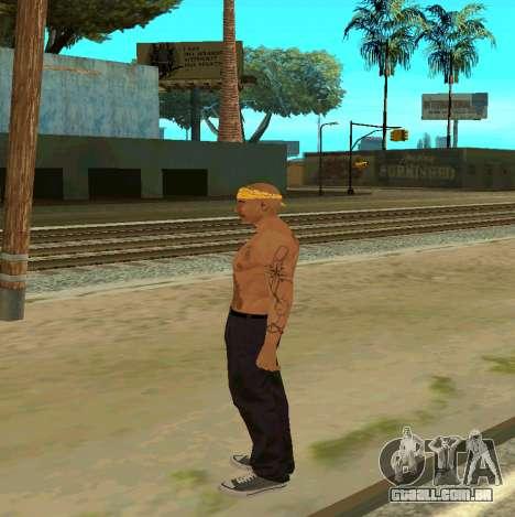 Macheter Vagos para GTA San Andreas segunda tela