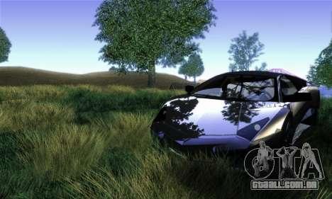 Trigga Snupes ENB para GTA San Andreas segunda tela