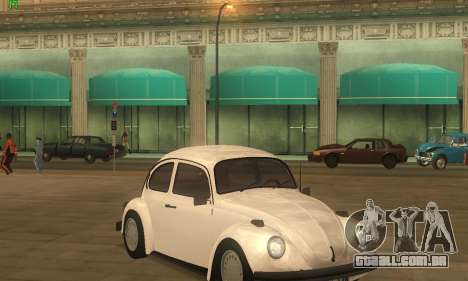 Volkswagen Beetle 1984 para GTA San Andreas
