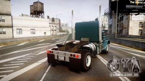 JoBuilt 289 Phantom para GTA 4 traseira esquerda vista
