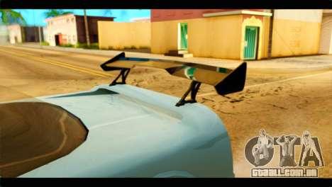 Infernus Rapide GTS Stock para GTA San Andreas vista direita
