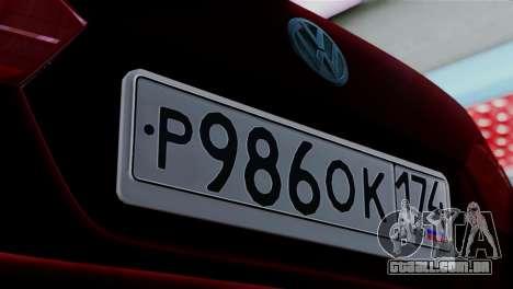 Volkswagen Jetta Stance para GTA San Andreas traseira esquerda vista