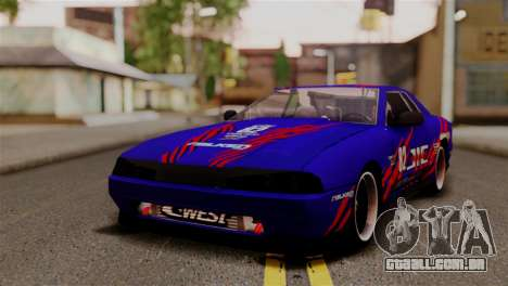 Elegy Full Customizing para vista lateral GTA San Andreas