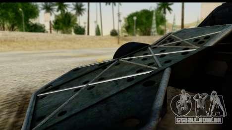 Flip Car 2012 para GTA San Andreas vista direita