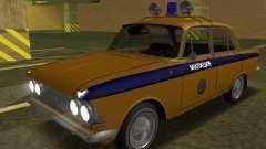 Moskvich 408 Polícia