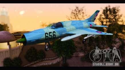MIG-21MF Cuban Revolutionary Air Force para GTA San Andreas