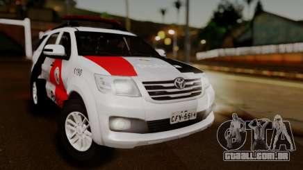 Toyota Hilux SW4 2014 Forca Tatica para GTA San Andreas