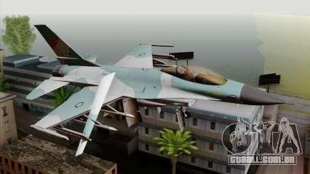 F-16C TNI Angkatan Udara para GTA San Andreas