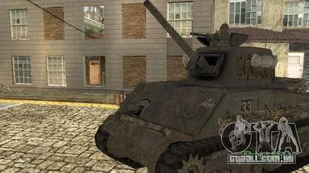 O Tanque M4 Sherman para GTA San Andreas