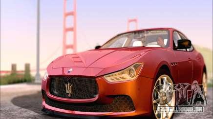Maserati Ghibli 2014 para GTA San Andreas