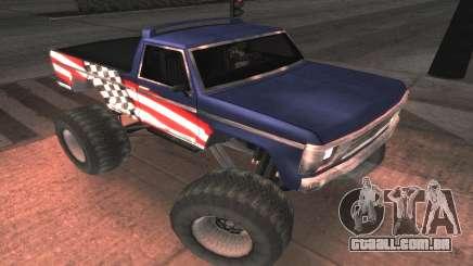 Novas texturas Final do Monstro para GTA San Andreas