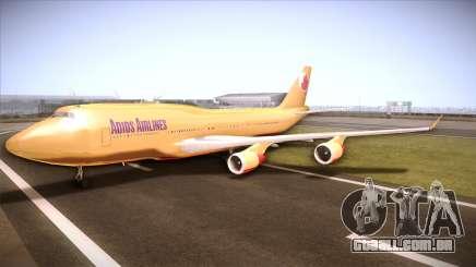 GTA V 747 Adios Airlines para GTA San Andreas