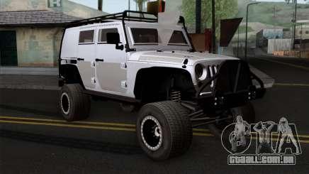Jeep Wrangler 2013 Fast & Furious Edition para GTA San Andreas