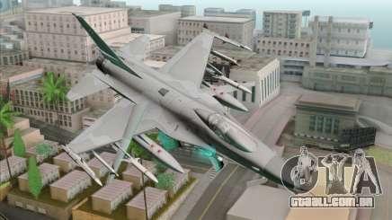 F-16C Jastrzab para GTA San Andreas