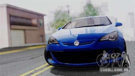 Vauxhall Astra VXR 2012 para GTA San Andreas