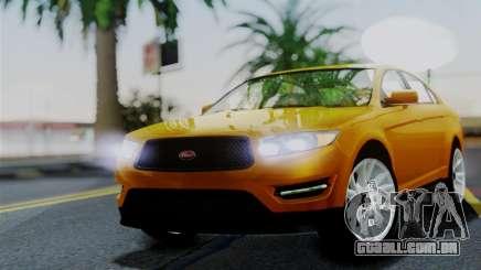 Vapid Interceptor v2 SA Style para GTA San Andreas