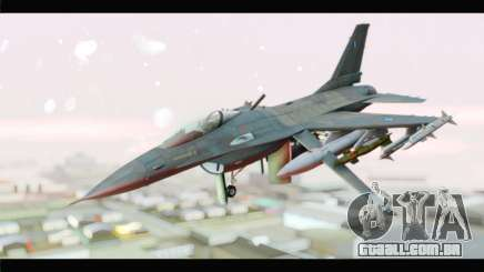 F-16C Hellenic Air Force para GTA San Andreas