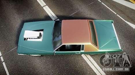 Albany Manana GTA V Style para GTA 4 vista direita